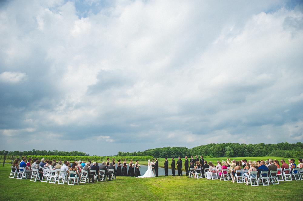 Cleveland Wedding Photographer | Wedding at ferrante winery