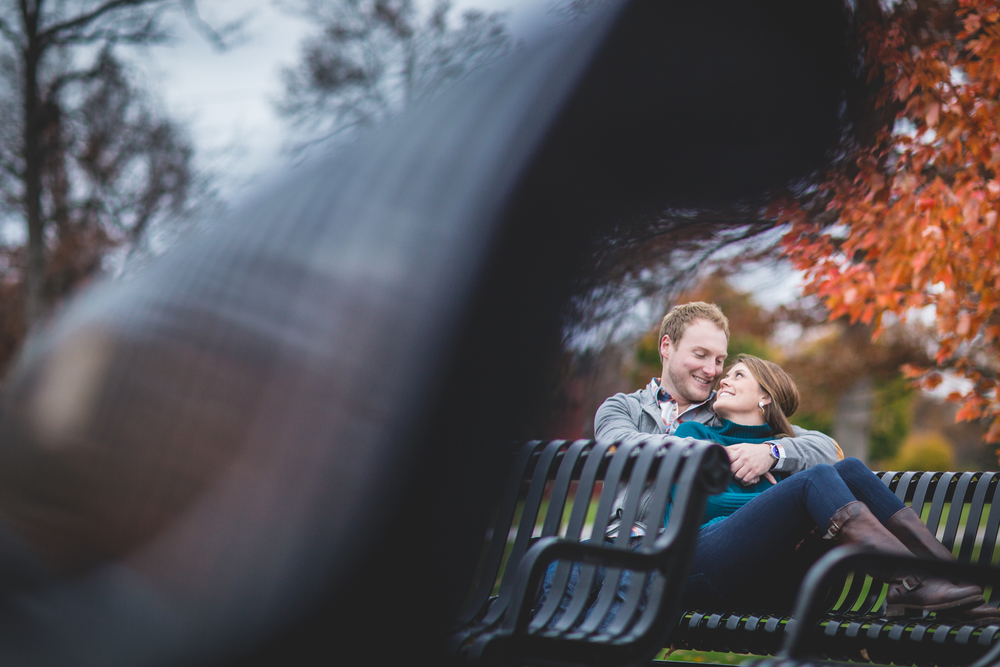 Cleveland Engagement Photography at lakewood park