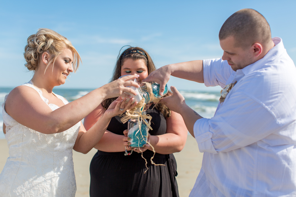 Beach wedding // destination wedding photographer