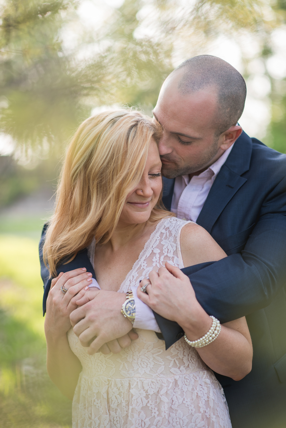 Stephanie and Kevin's engagement session in mentor ohio