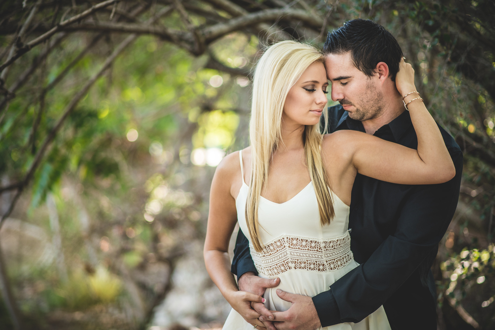 Kelsey and Bryce's engagement photography in Rancho Cucamongo California