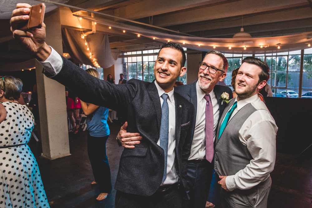 Erin and Ryan's wedding at W78th Street SmART space in Cleveland Ohio