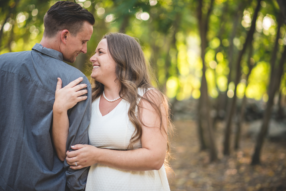Ayren and Curtis' Engagement photos in Claremont California
