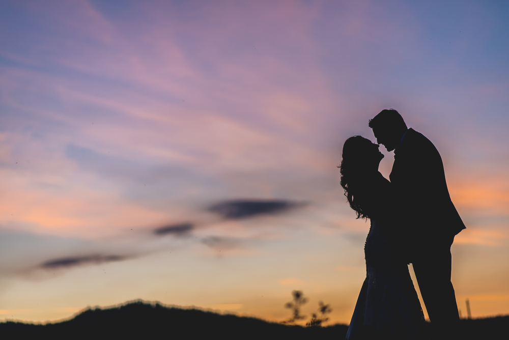 wedding at marina resort in big bear lake california felicia and alek
