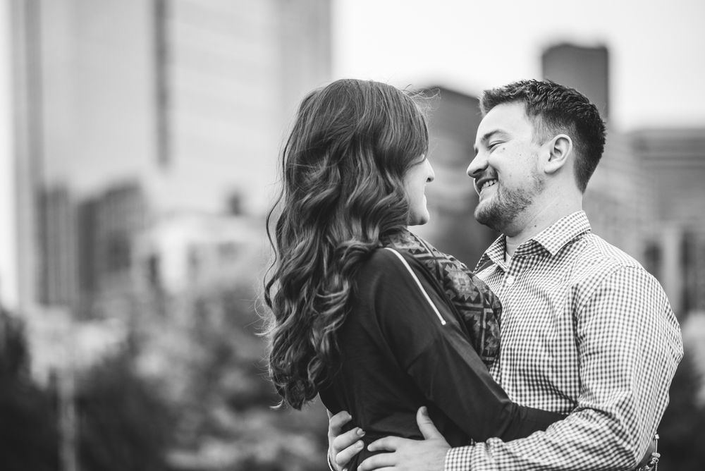 Seattle Washington Engagement session | Heather + Skyler