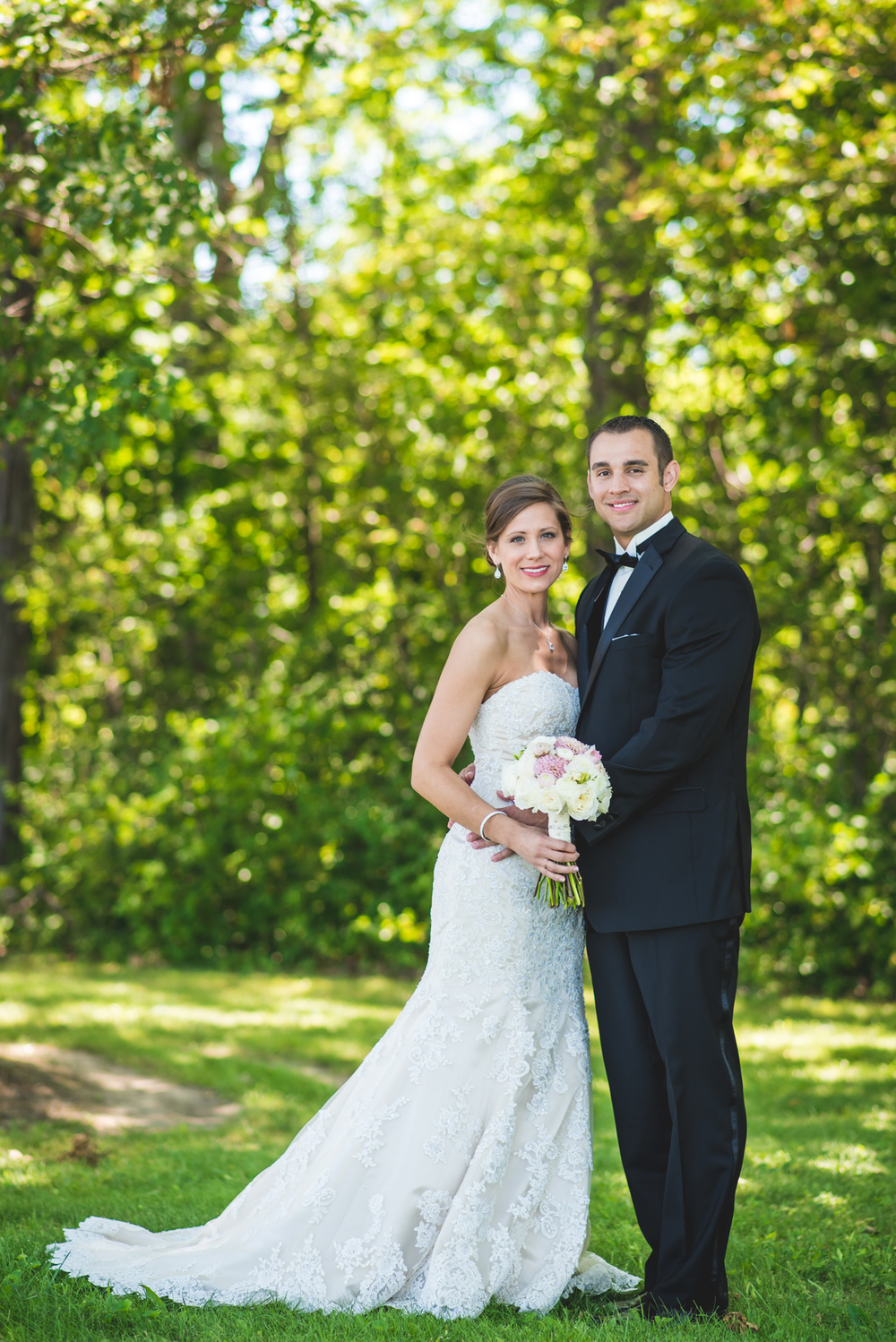wedding at the lodge at geneva | whitney and peter