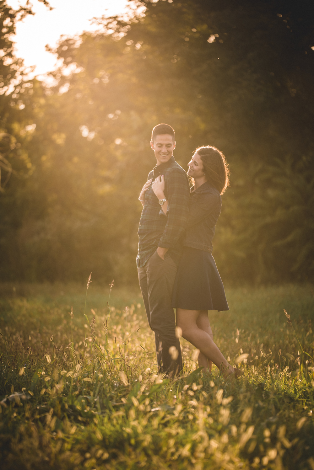 Cleveland engagement session photos