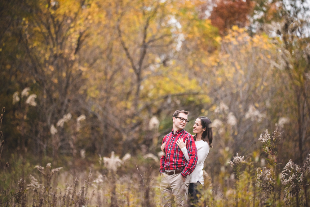 Cleveland and Rocky River Reservation Engagement | Danielle + Andrew
