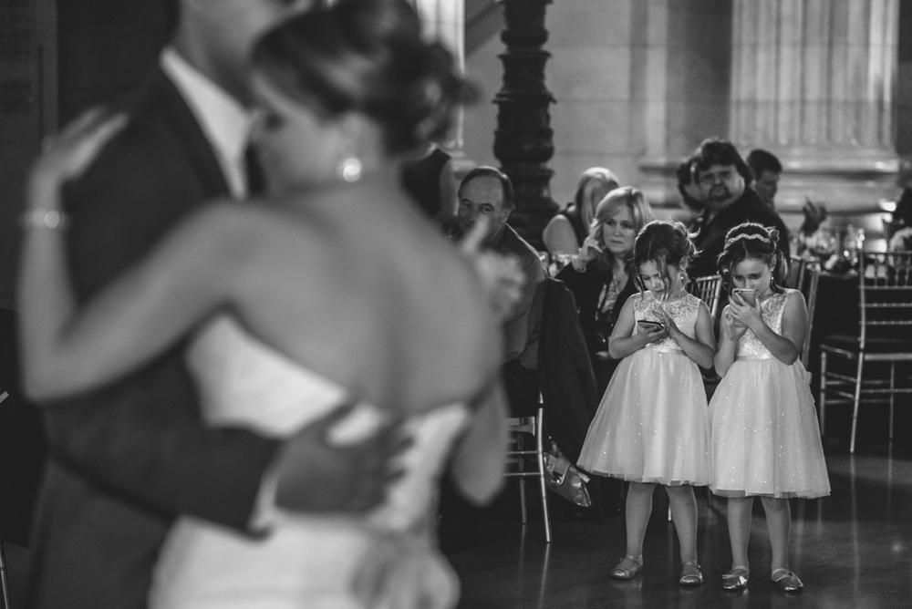 Wedding at City Hall in Cleveland Ohio | Stephanie + Rob