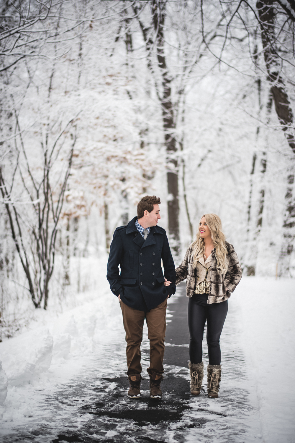 Engagement Session at Rocky River Reservation | Ashley + Garrett