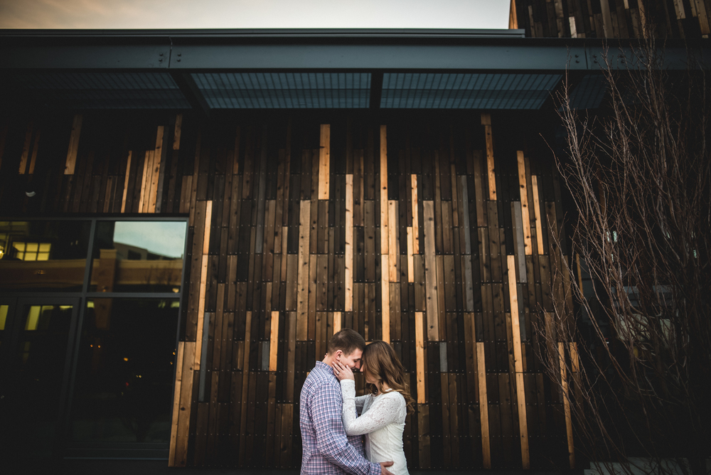 Engagement Session in the east bank of The Flats | Jessica + Brian