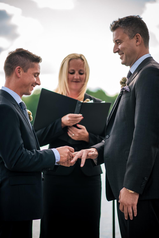 Same Sex Wedding at Lake Forest Country Club | Dale + Glenn