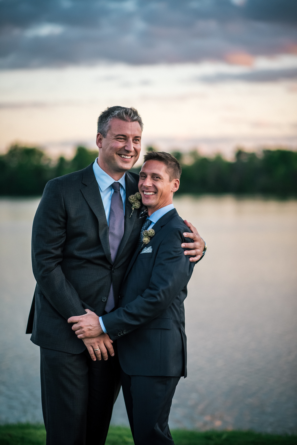 Same Sex Wedding at Lake Forest Country Club | Dale + Glenn