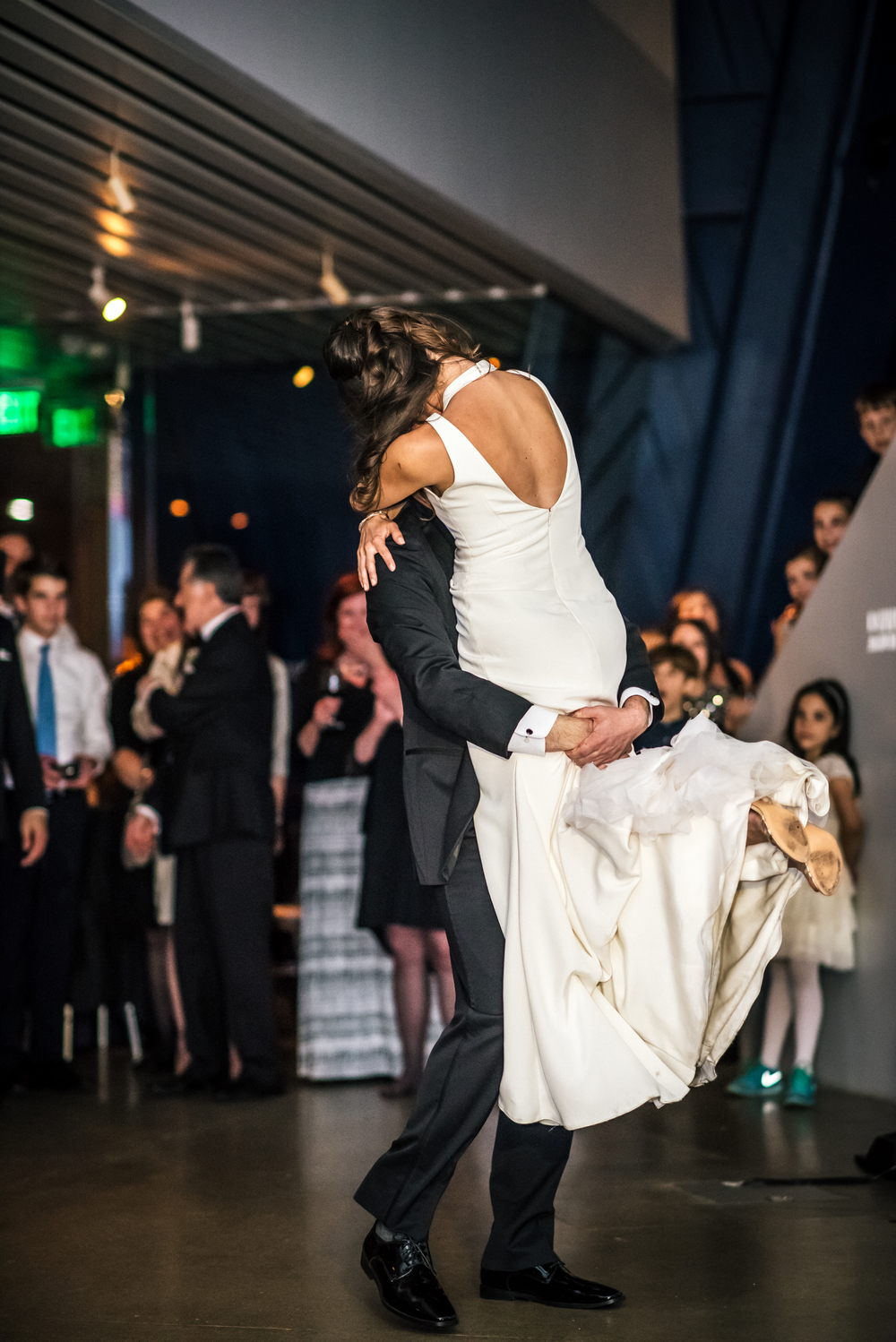Wedding at MOCA in Cleveland Ohio | Kat + Charlie