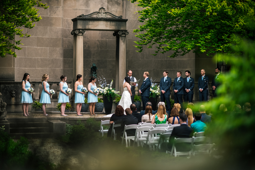 wedding at western reserve historical society in cleveland ohio