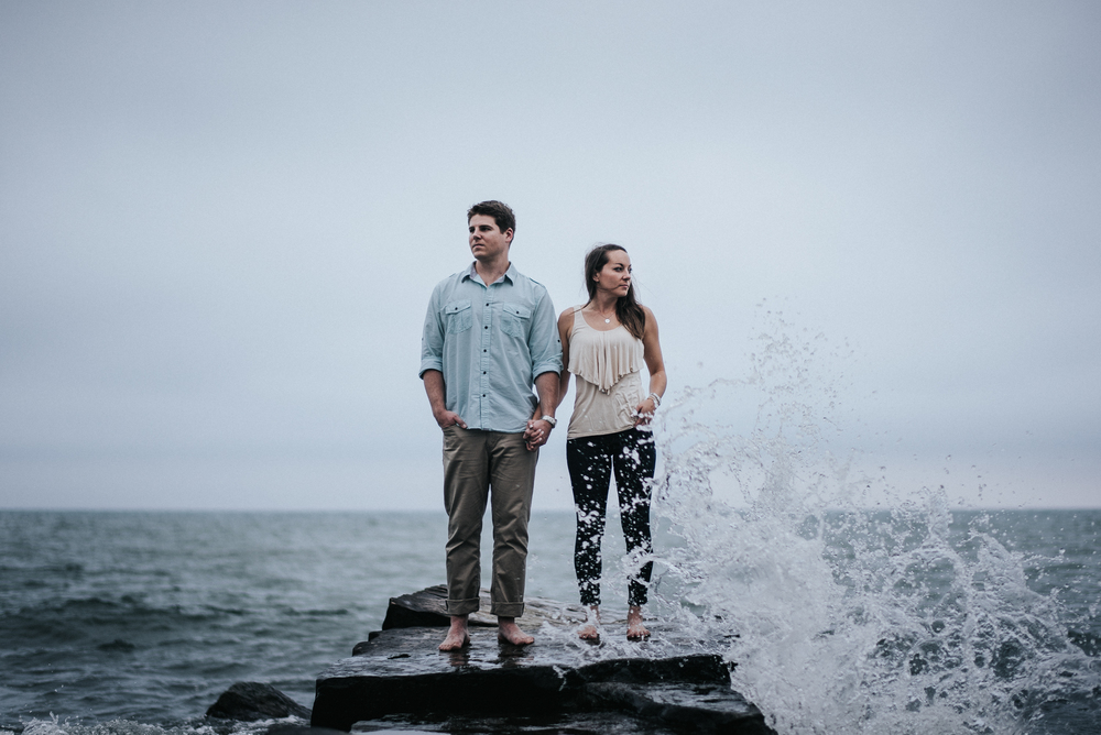 Huntington beach engagement session | Kim and Brian