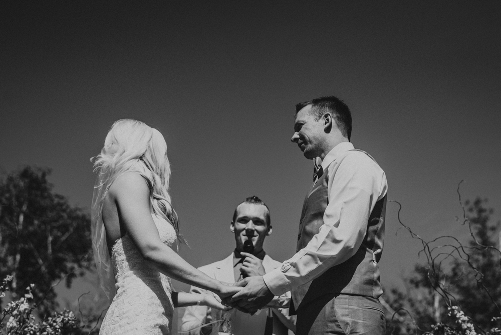 Wedding at Crooked Creek Ranch in Traverse City Michigan | Andrea + Karl