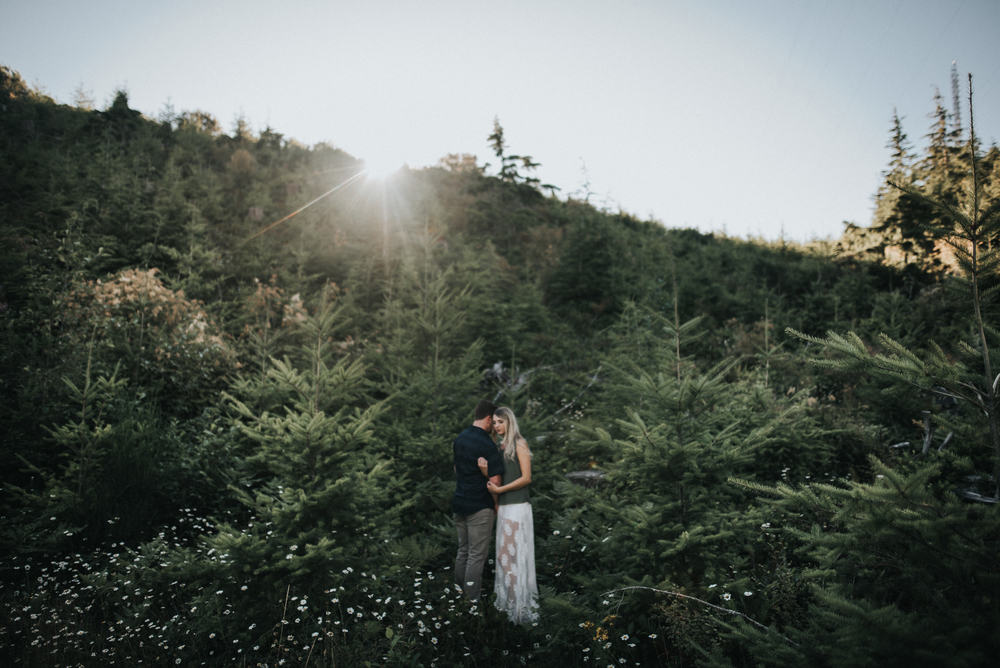 Surprise Proposal and engagement at Gold Mountain in Washington | Kelsi + Spencer