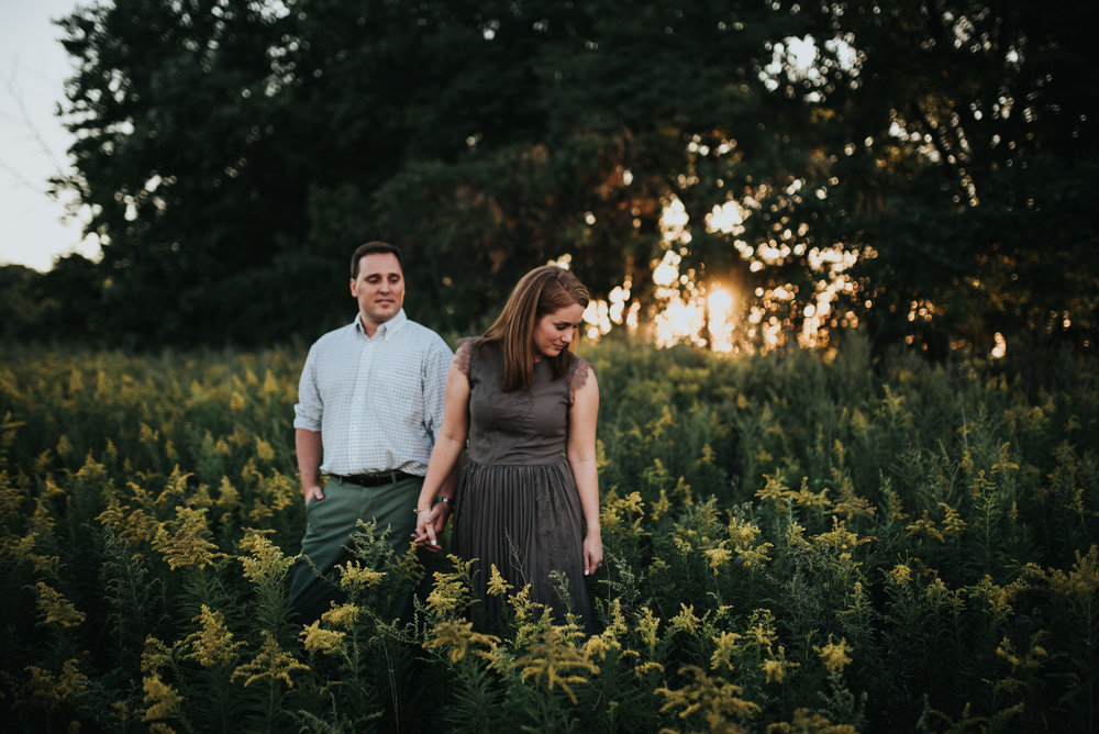 wendy park engagement session - cleveland ohio