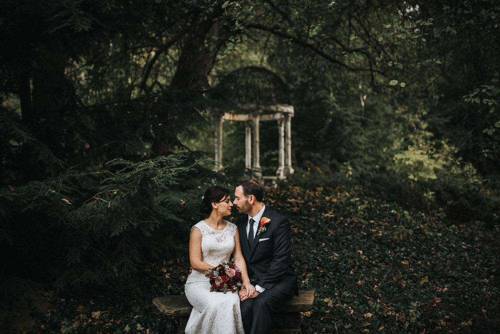 Elopement at The Club at Hillbrook in Chagrin Falls | Stacey + Sean