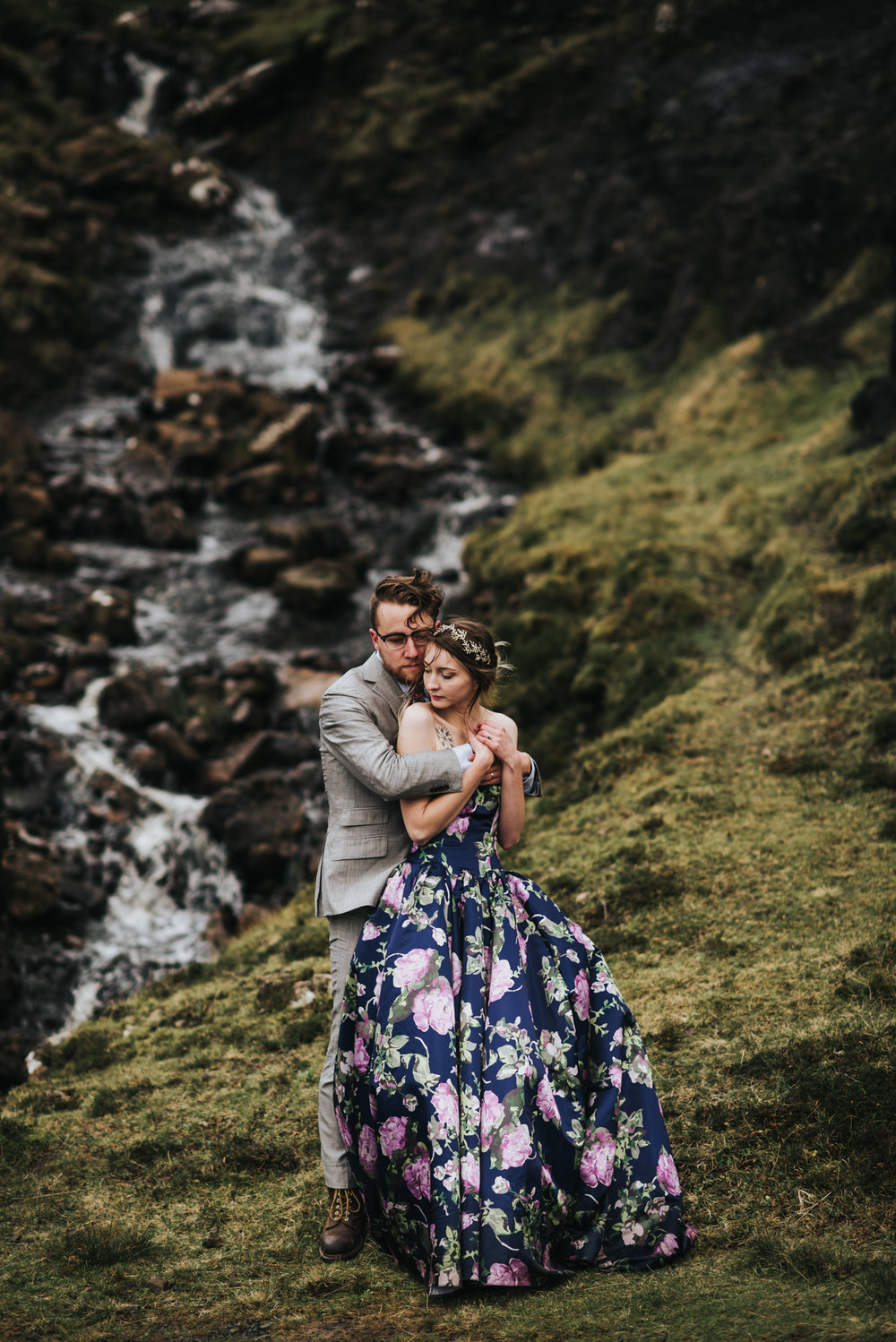 Isle of Skye Scotland Elopement - Lisa and Alex