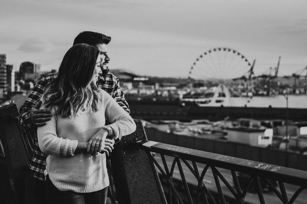 seattle washington engagement session