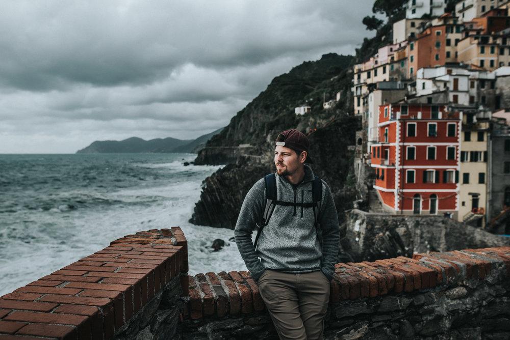 Cinque Terre Italy Backpacking adventure - manarola