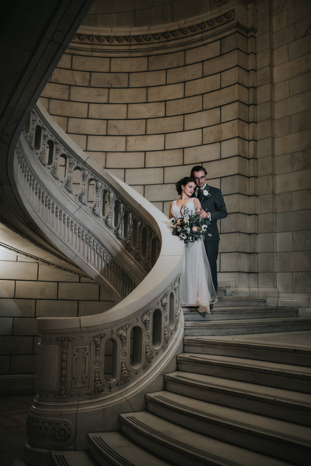 WEDDING AT THE OLD COURTHOUSE IN CLEVELAND OH | GINA + RYAN