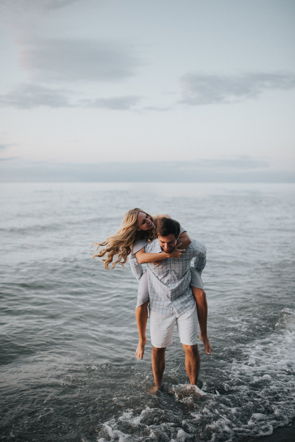 Engagement at Huntington Beach in Bay Village OH | Marissa & Brian