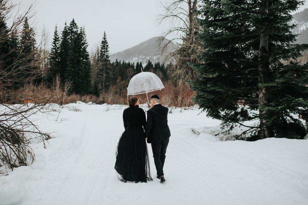 Engagement at Tall Timber Ranch in Leavenworth WA | Amanda & Jim