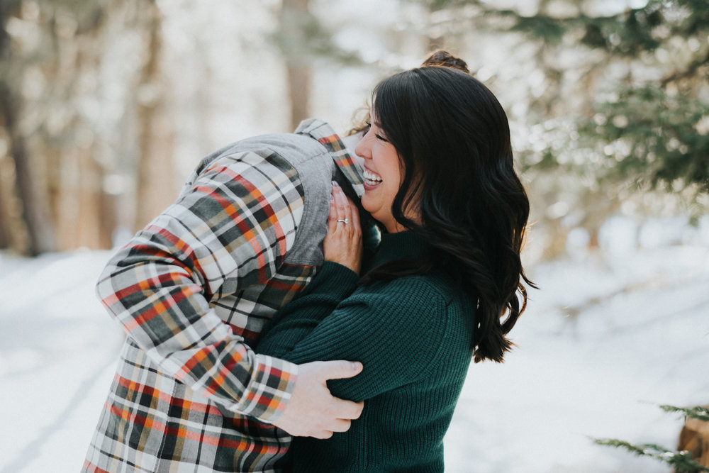 Engagement at Lake Wenatchee State Park WA | Megan & NickEngagement at Lake Wenatchee State Park WA | Megan & Nick