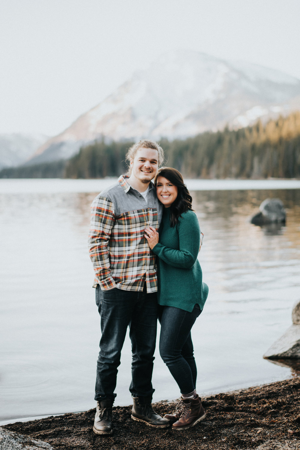Engagement at Lake Wenatchee State Park WA | Megan & Nick