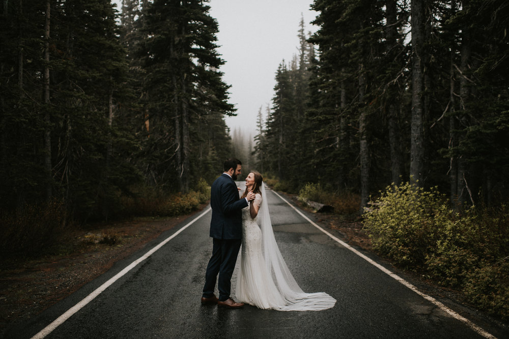 ELOPEMENT AT HURRICANE RIDGE WA | KRISTIN & ALEX