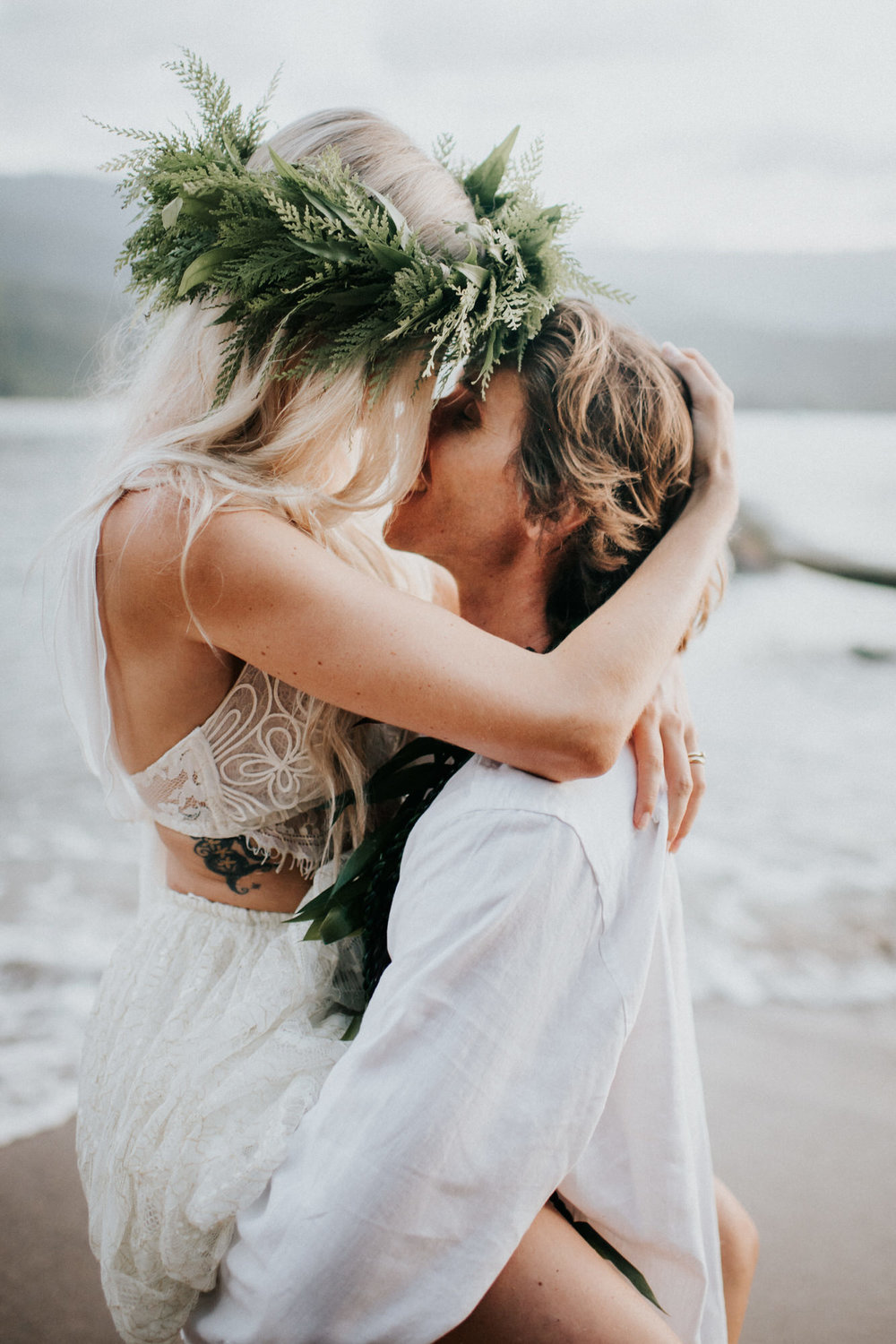 Kauai Hawaii Elopement Photographer Princeville Kauai Wedding