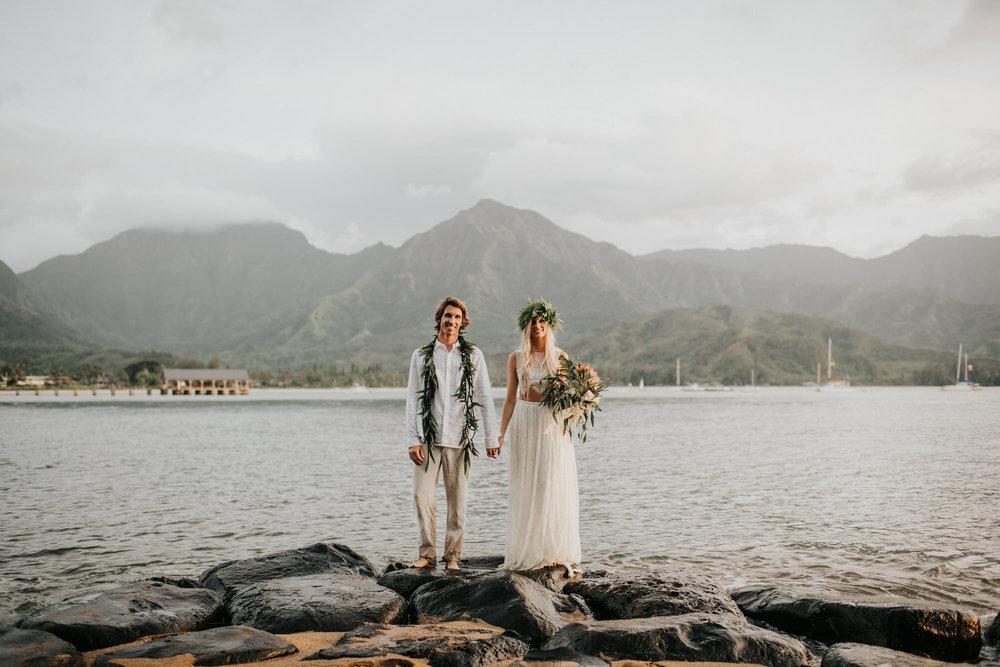 Tara + Nic - Kauai Hawaii