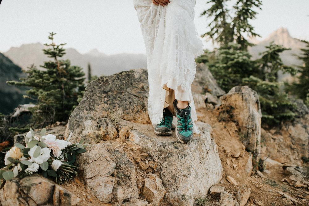 North Cascades National Park Adventure Elopement