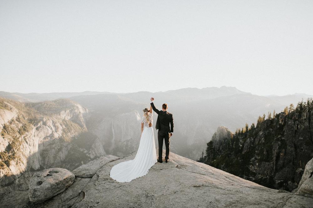 Yosemite National Park Adventure Elopement