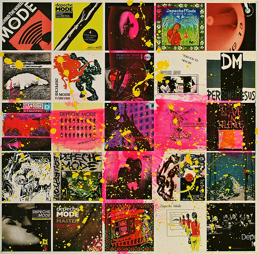 "DEPECHE MODE 7"" COLLAGE"