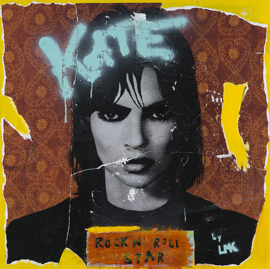 KATE MOSS ROCK`N ROLL STAR