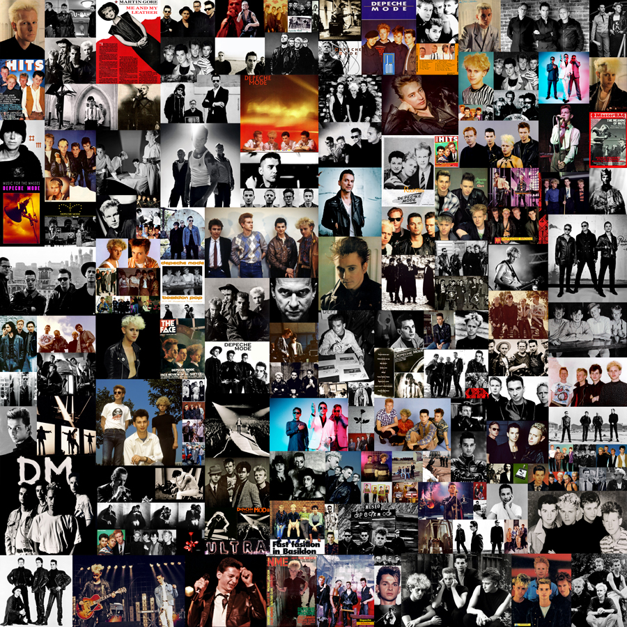 DEPECHE MODE COLLAGE