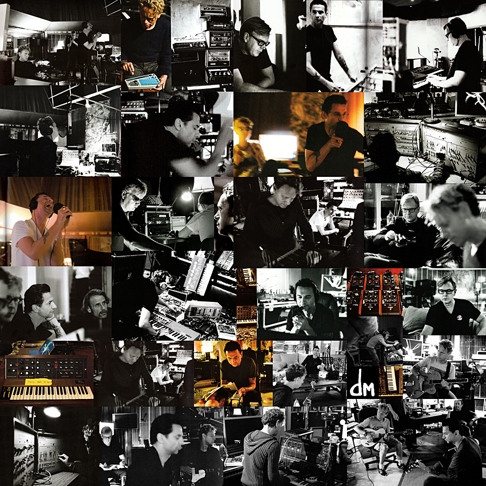 DEPECHE MODE STUDIO COLLAGE