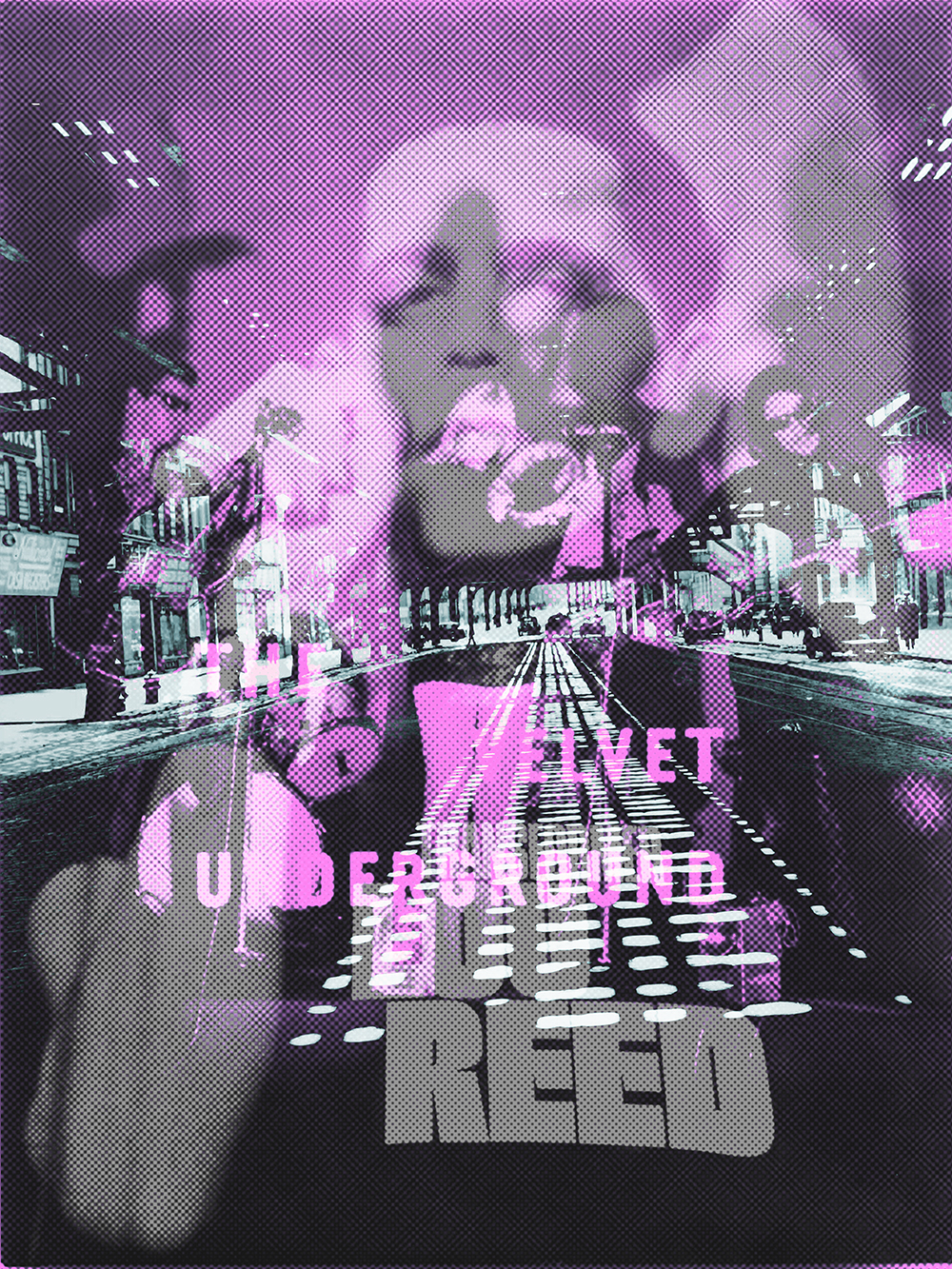 LOU REED VELVET CITY #01