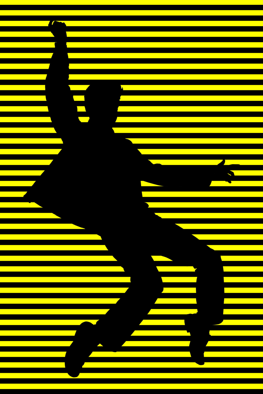 ELVIS DANCE YELLOW STRIPES