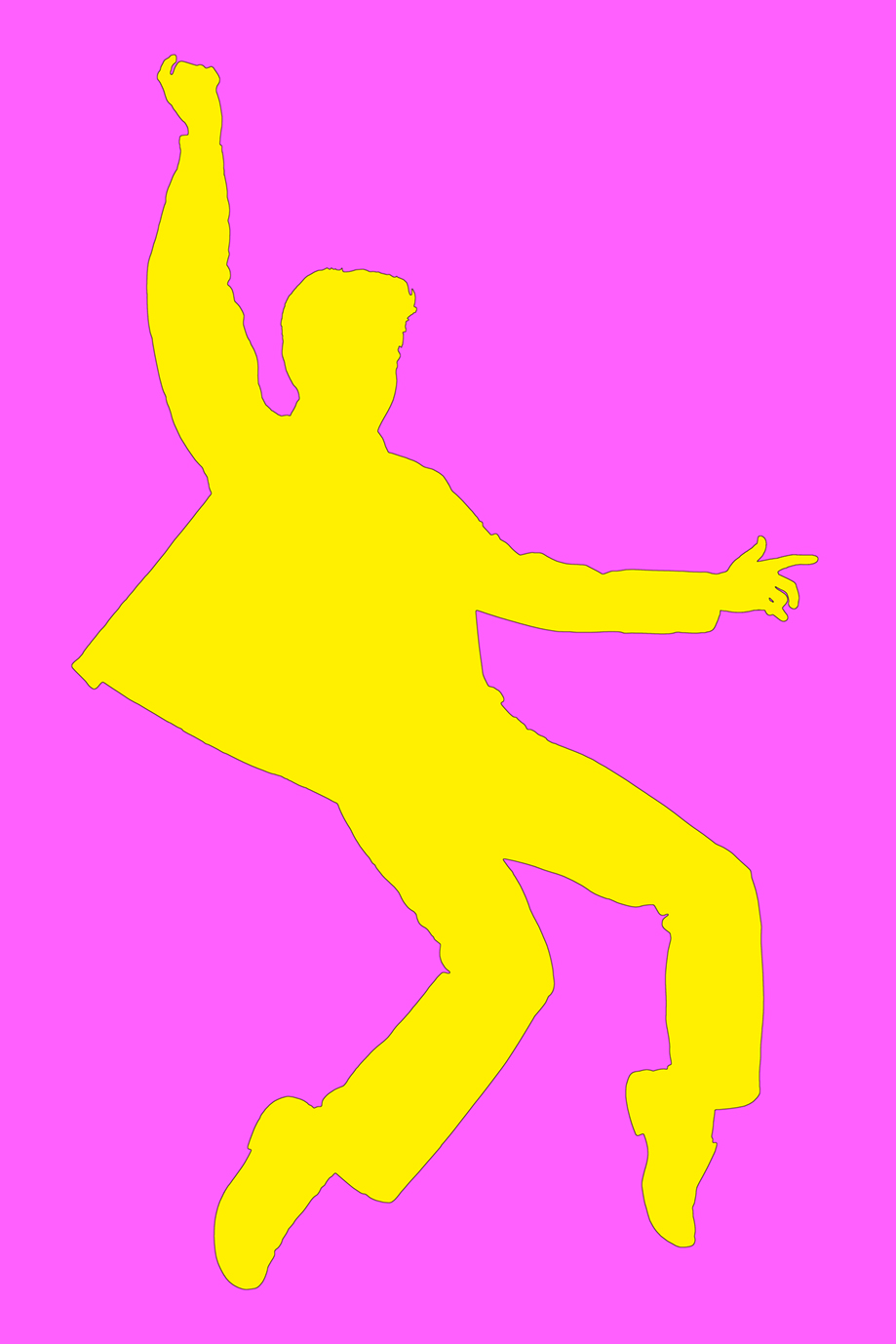 ELVIS DANCE YELLOW