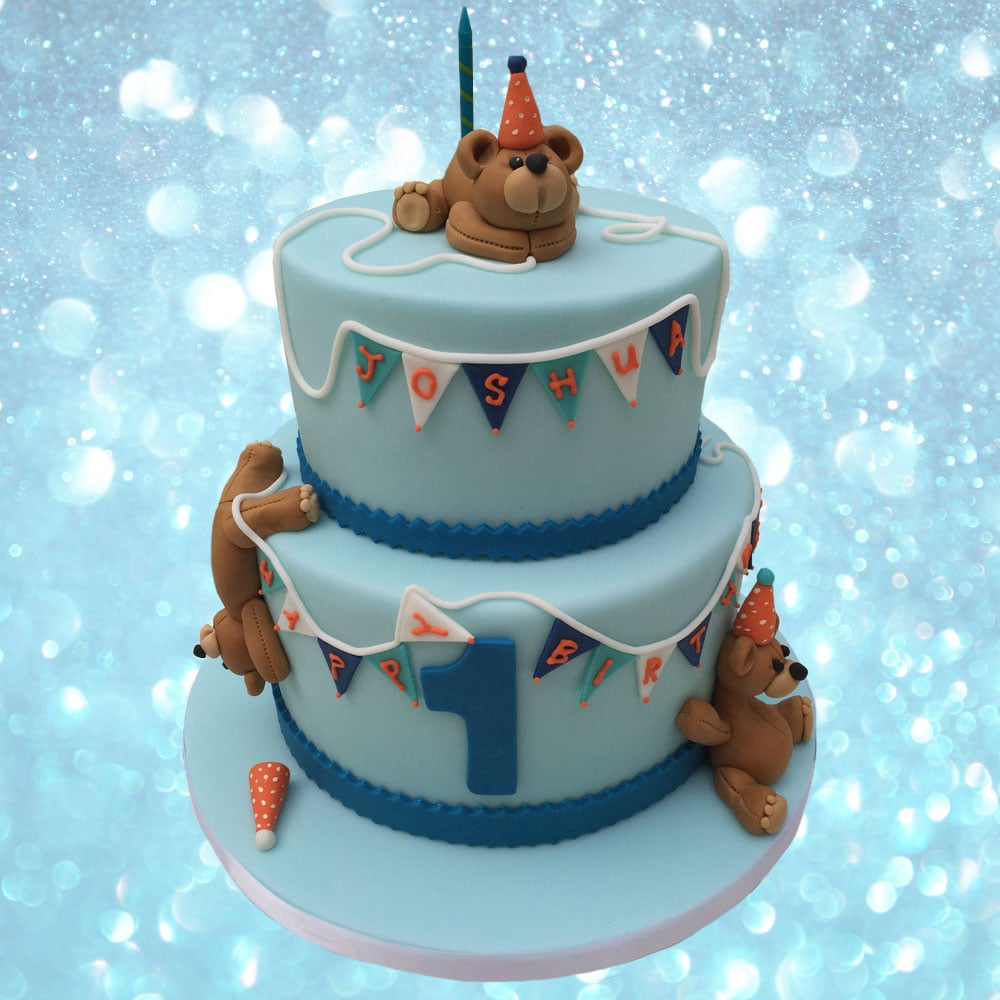 Teddy Bear Cake - 1st Birthday.jpg