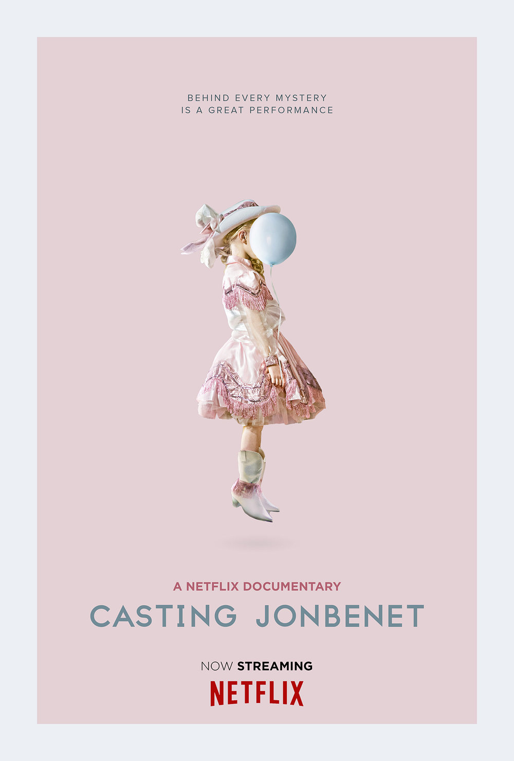 Casting JonBenet  - documents the casting process for a fictional film. Various Colorado-area actors are interviewed and tested for the roles of real people involved in the case, including John and Patsy Ramsey, Burke Ramsey, John Mark Karr, and Boulder police officials. During the process, the would-be actors reveal their emotions about the case and offer their own speculations.