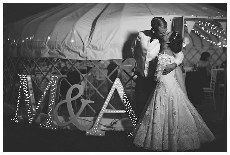 Cheshire Yurt wedding