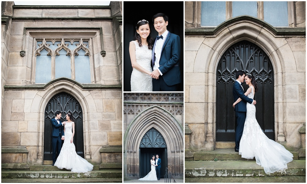 Leeds Minster Engagement Shoot