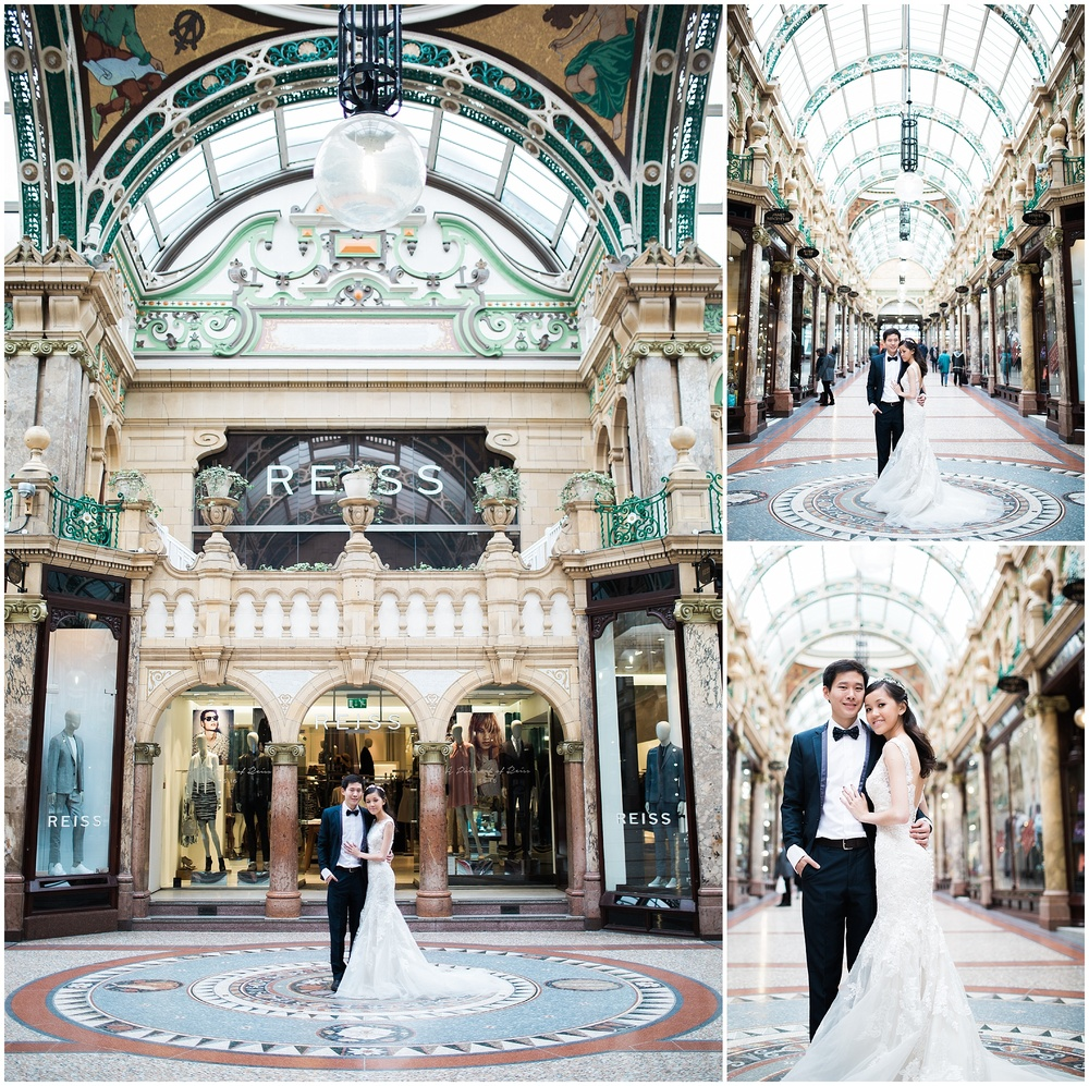 Victoria Quarter Leeds Wedding Photography