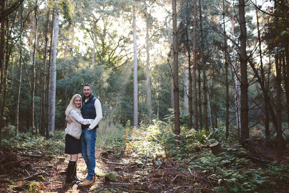 Delamere Engagement Photography